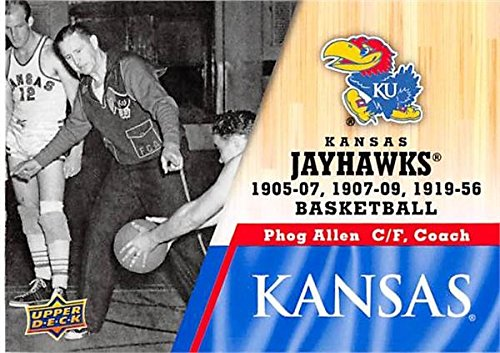 Phog Allen Basketball Card (Kansas Jayhawks, Coach) 2013 Upper Deck #2