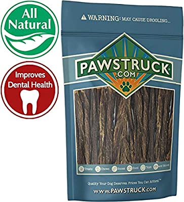 "5"" Junior Beef Gullet Bully Sticks for Dogs & Puppies 