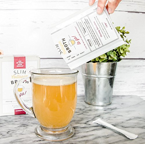 Bone Broth Collagen To Go Packets: (7 servings per box) from Bone Broth Expert Dr. Kellyann   100% Grass-Fed Collagen   Daily Serving of Collagen by Dr. Kellyann (Image #1)