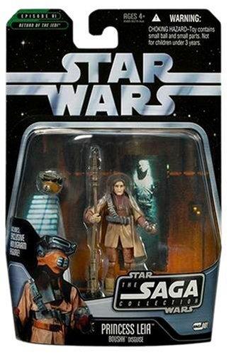 Basic Figure Star Wars The Saga Collection Princess Leia Boushh Disguise Hasbro 85801