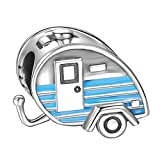 SOUFEEL Travel Trailer Charm 925 Sterling Silver Charms Fit European Bracelets