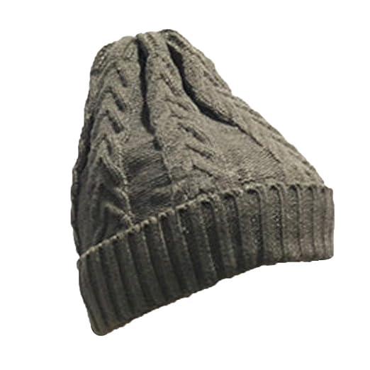 lotus.flower Fashion Men Women Baggy Warm Crochet Winter Wool Knit Ski Beanie Skull Slouchy