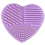 Redcolourful Makeup Brush Cleaner Practical Silicone Makeup Brush Washing Tools Brush Egg(Purple)