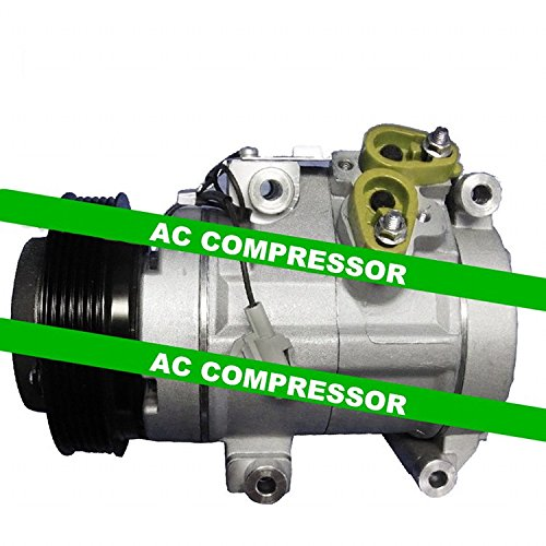 GOWE AC COMPRESSOR FOR CAR TOYOTA SIENNA 3.3L AC COMPRESSOR WITH CLUTCH 14-0135 98310 10854C 6512103 01-10898KTC 02-9704 03-3008 04-46 Review