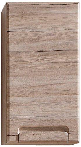 trendteam Armario de baño suspendido Armario para colgar Malea, 37 x 70 x 20 cm en acabado roble claro San Remo con mucho espacio: Amazon.es: Hogar