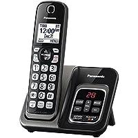 Cordless Telephones, Black Panasonic Cordless Office Home Landline Telephone