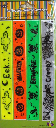 Halloween Reflective Safety Patches