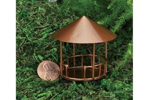 Miniature Fairy Garden Micro Mini Copper Gazebo