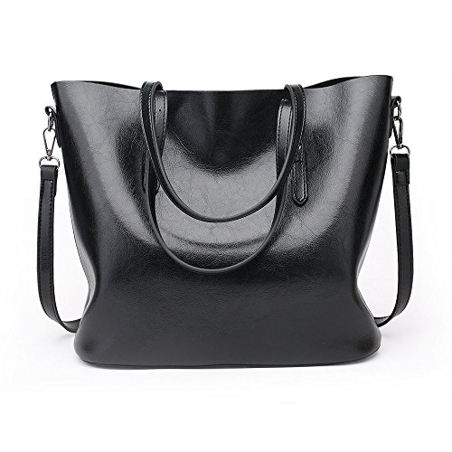 luxury handbags retro women bags designer purses and handbags bags for women 2017 women bags handbags women famous brands women leather handbags hobo tote bag ladies hand bags (black)