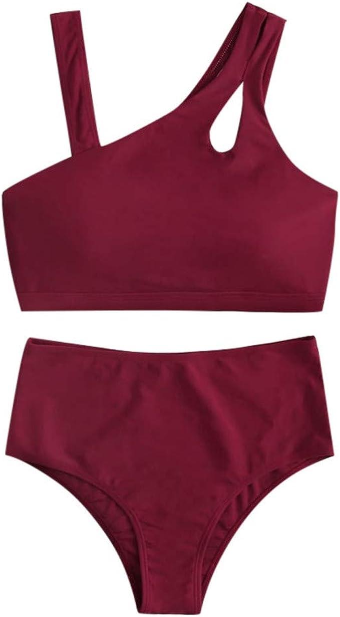 Acilnxm Womens One-Piece Swimsuits Printed Dress Swimwear Summer Bikini Beachwear Tankini