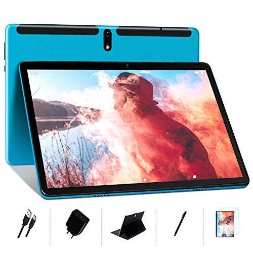 Tablet 10 Inch Android 10- MEBERRY Ultra Portable Octa-Core Processor 1.6 GHz Tablet PC 4GB RAM + 64GB ROM – Google GMS…