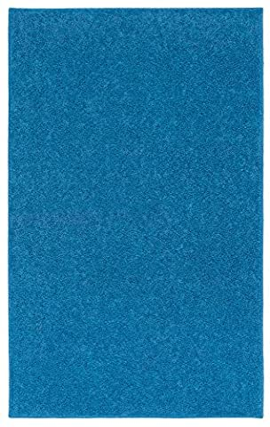 Nance Industries OurSpace Bright Area Rug, 8-Feet by 10-Feet, Royal Sky Blue