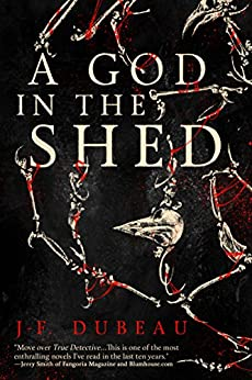 A God in the Shed by [Dubeau, J-F.]