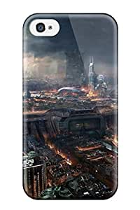 Hot New Premium Adrift Concept City Skin Case Cover Excellent Fitted For Iphone 4/4s 8067397K18479284