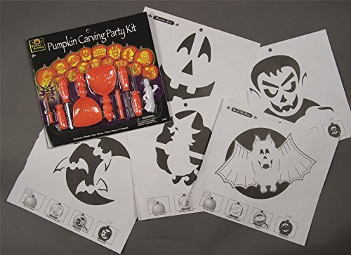Premier Halloween Pumpkin Carving Party Kit by Fancy Dress Magic Limited (Fancy Dress Magic Ltd)