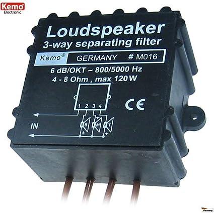 3 Wege Lautsprecherweiche Weiche Lautsprecher Max 120w Elektronik