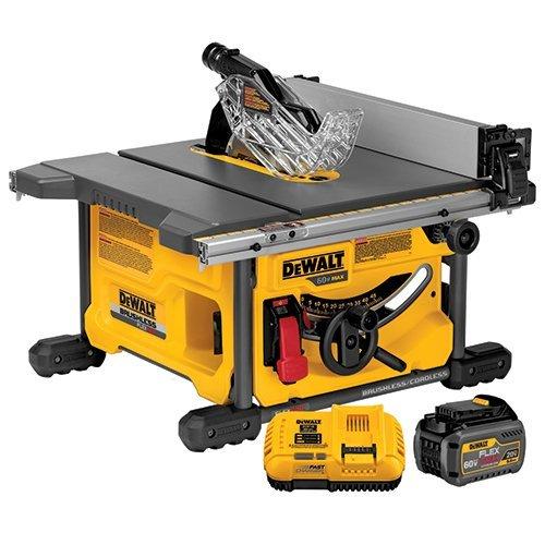 DEWALT DCS7485T1R FLEXVOLT 60V MAX Table Saw Kit, 8-1/4″ (Certified Refurbished)