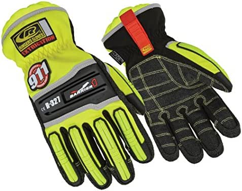 Ringers Gloves R-327 Extrication Barrier1, Heavy Duty Extrication Gloves, Small