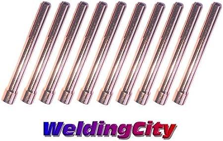 "10PK 10N25S Stubby Collet 1//8/"" 3.2mm for TIG welding torch WP PTA DB SR 17 18 26"