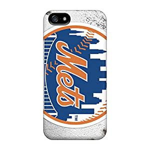 Ultra Slim Fit Hard StylishCase Case Cover Specially Made For Iphone 5/5s- New York Mets