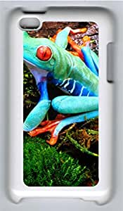 iPod 4 Cases & Covers - Blue Frog Custom PC Soft Case Cover Protector for iPod 4 - White