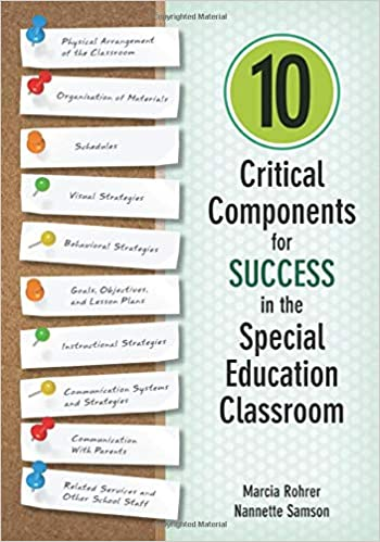 On Special Education How To Use Paper >> 10 Critical Components For Success In The Special Education