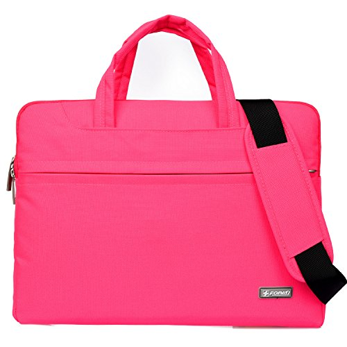 14 Laptop Case, Waterproof Computer Bag Business Carry Sleeve Case Notebook Shoulder Messenger Bag For Macbook Air 15 /Mac Pro 15 Retina/ 14.1