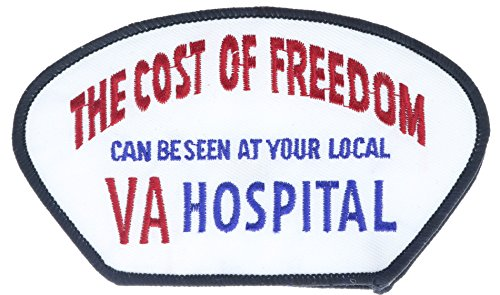 the-cost-of-freedom-seen-at-local-va-hospital-5-inch-patch-honflb1933
