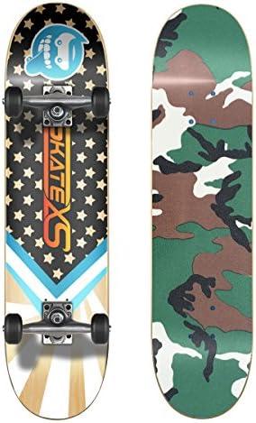 SkateXS 初心者 スターボード ストリート スケートボード