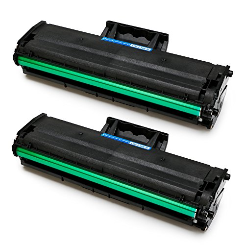Samsung Toner (MIROO 2xBlack 101 Toner Cartridge for Samsung MLT-D101S MLTD101S High Yield,Use on Samsung ML-2165W SCX-3405FW SCX-3405W ML-2161 ML-2166W ML-2160 ML-2165 SCX-3400 SCX-3401FH SCX-3406W ML-2161 Printer)
