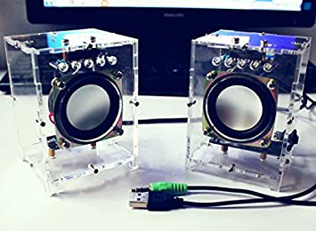 Hobby King Diy Active Speaker Kit With Clear Case Amazon Co Uk