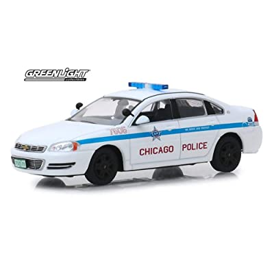 2010 Chevy Impala, Chicago Police - Greenlight 86166 - 1/43 Scale Diecast Model Toy Car: Toys & Games