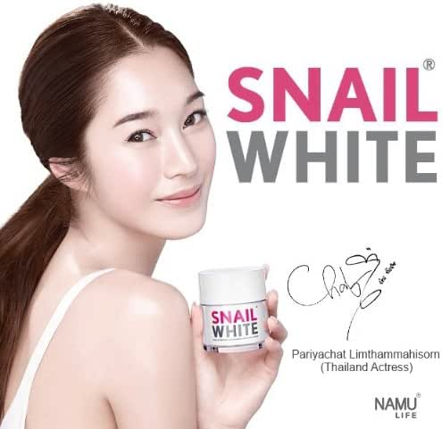 Snail White Best Anti Aging Wrinkle Cream for Face Korean Food for Skin