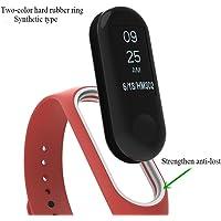 Diadia Watchband Xiaomi Mi Band 3–Diadia Sports Bandes de remplacement en silicone pour Xiaomi Mi Band 3Smart Bracelet