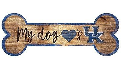 Fan Creations University of Kentucky Dog Bone Sign, Multi