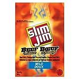 Slim Jim Beef N Cheese (Pack of 18), 42 g