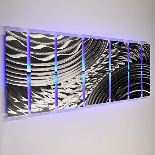 modern-abstract-metal-wall-art-large-metal-art-panels-silver-silver-storm-led-color-changing-led-scu