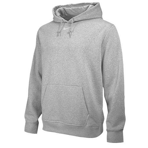 Nike Men's Team Club Fleece Hoody Grey S -