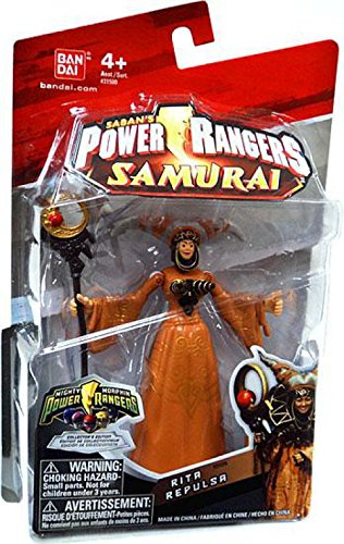 Power Ranger Villain Costumes (Power Ranger Samurai Mighty Morphin Rita Repulsa Action Figure)