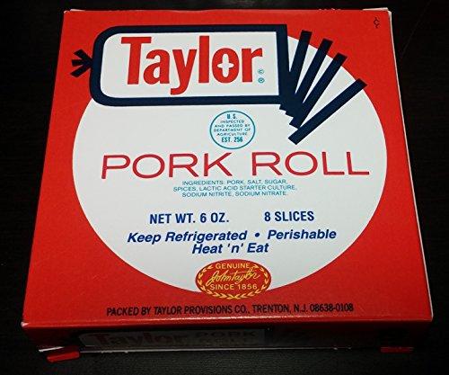 Taylor Pork Roll 6 Ounces Pre-Sliced (12 Pack)