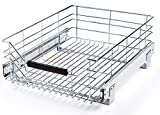 SP Product Steel Shelf Pull Out Storage Drawer for Cabinet Organizer