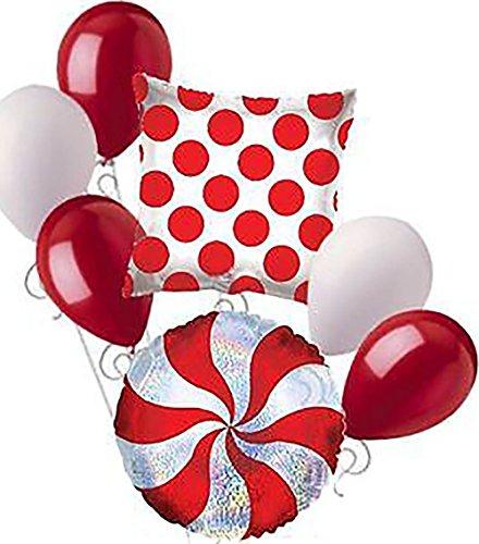 "Christmas 18 Inch Mylar Balloon - Custom, Fun & Cool {Big Large 12"" - 18"