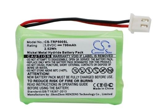Battery Replacement for Tri-tronics 1038100-D 1038100-E 1...