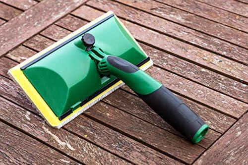 TDBS The Dustpan and Brush Store - Aplicador de madera para cubrir cobertizos y vallas, almohadilla de pintura diseñada para aplicar manchas de pintura y tratamiento a cobertizos y vallas: Amazon.es: Jardín