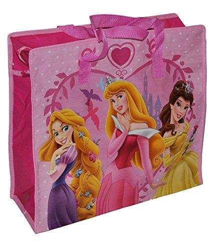 SHOPPER/bolsa/bolso bandolera con recubrimiento de plástico para chica Bolsa Bolsa Bolsa de la compra - para Disney Princesa - Bolsa de playa bolsa de viaje