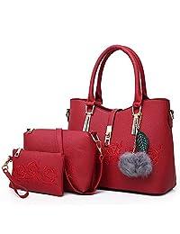 ... HITSAN INCORPORATION Sisjuly 3pcs Leather Bags Handbags Women Shoulder  Bag Female Casual Tote Women Messenger Bag ... cec2725f2c