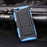 iPhone SE / 5S / 5 Case, Cocomii [HEAVY DUTY] Robot Case :::NEW::: [ULTRA FUTURE ARMOR] Premium Belt Clip Holster Kickstand Bumper [MILITARY DEFENDER] Full-body Rugged Dual Layer Cover (Blue)
