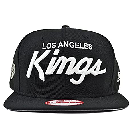 best service 5a621 b6086 ... ireland new era los angeles kings 9fifty black and white vintage script  n.w.a adjustable snapback hat