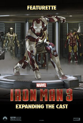 with Iron Man DVD's design