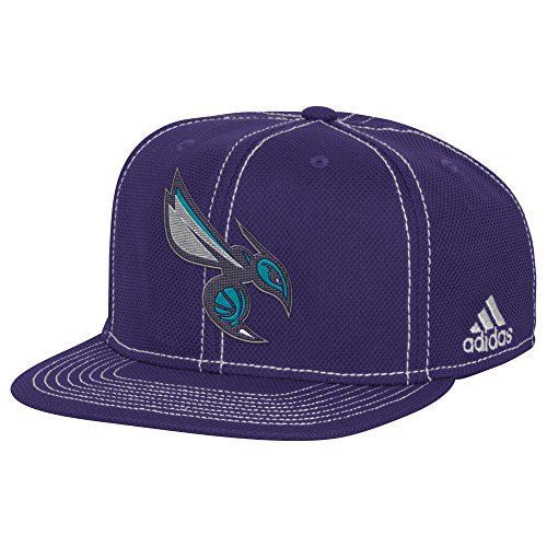 NBA Charlotte Hornets Men's Lights out Flat Brim Snapback Cap, One Size, ()